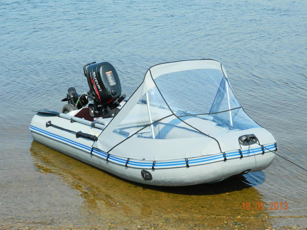 Носовой тент на пвх лодку